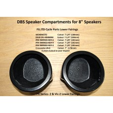 "DBS  Speaker Compartments for 8"" speakers"