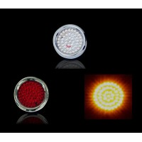 "2.25"" LED Flush Mount Circles"