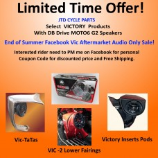 Victory Only Sale - DB DRIVE MOTO6 G2 - Package Pricing