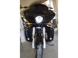 SPECIAL - Victory Cross Country Lower Fairings W/ Mega Spotz Running Lights