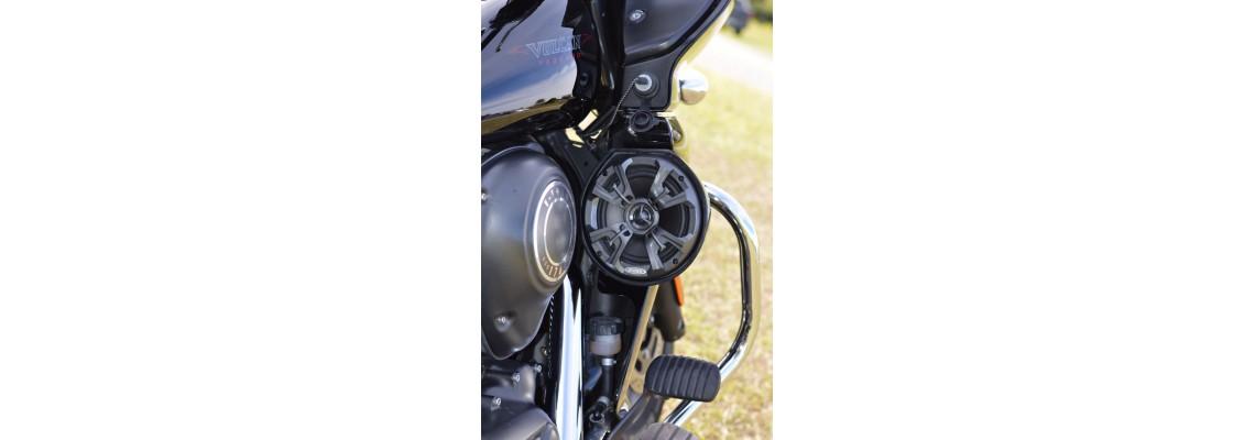 Kawasaki Vaquero Speaker Pods by JTD Cycle Parts